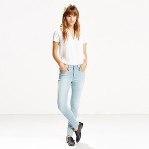 Levi's 311 Shaping Skinny Light Wash Jeans